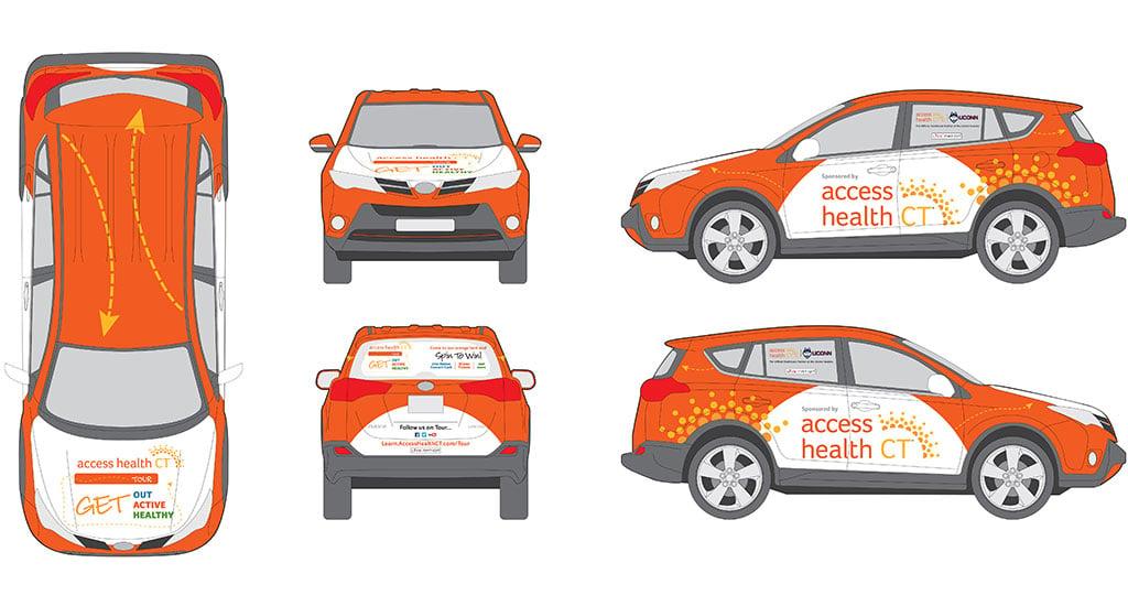 Healthcare Vehicle Wraps